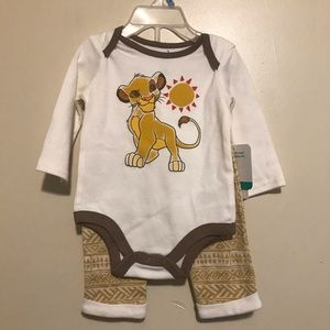 Disney Lion King baby outfit